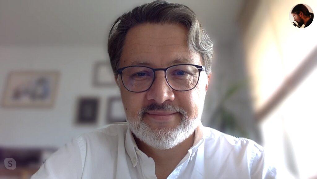 podcast PRZEtłumacze i jego gość- Michał Rusinek