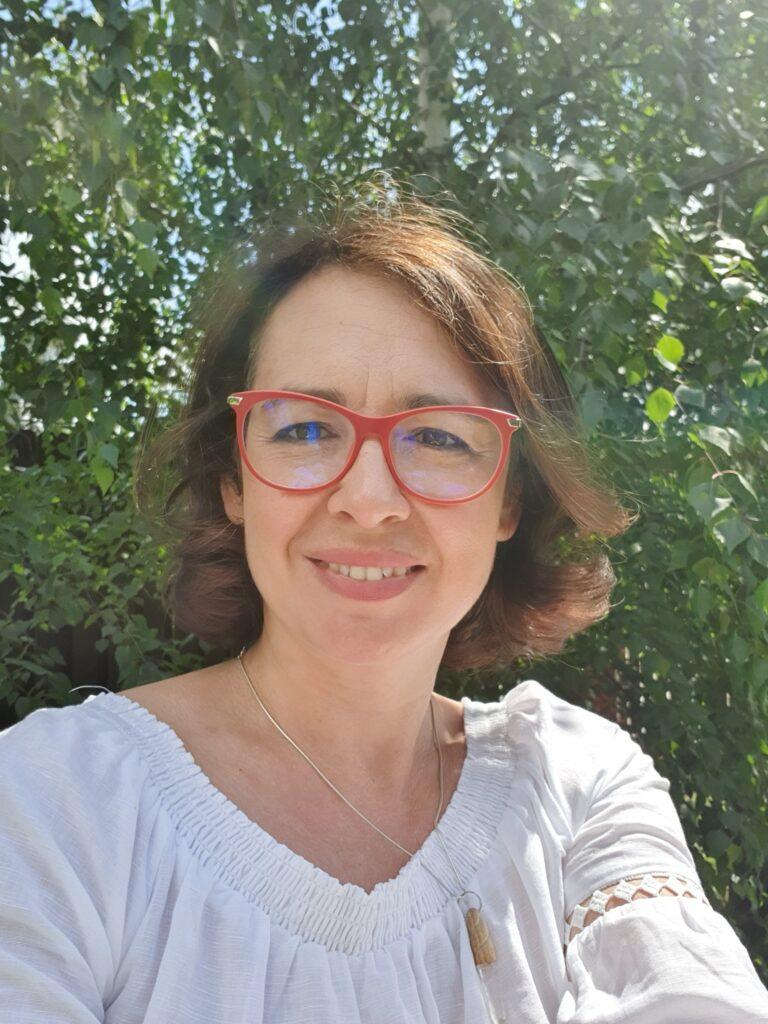 Agata Rybacka w Diunie - portret